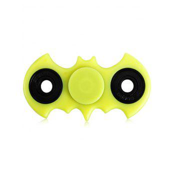 Anti-Stress Toy Bat Fidget Spinner - YELLOW GREEN YELLOW GREEN