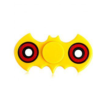 Anti-Stress Toy Bat Fidget Spinner - YELLOW YELLOW