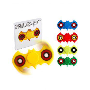 Anti-Stress Toy Bat Fidget Spinner -  YELLOW