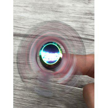 Colorful Triangle Stress Relief Toy Fidget Spinner - multicolorcolore