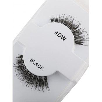 Long Extensions Thick Fake Eyelashes - BLACK