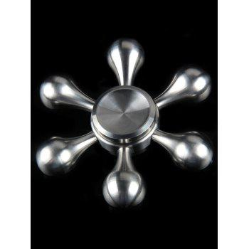 Flower Shape Stainless Steel Stress Relief Gyro Hand Spinner