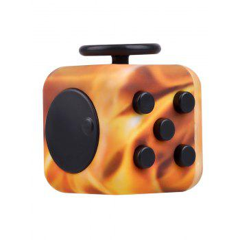 Novelty Fake Jade Stress Relief Toy Fidget Rubik's Cube