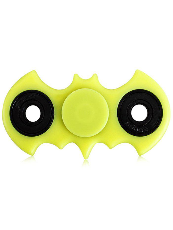 Anti-Stress Toy Bat Fidget Spinner - Jaune Vert