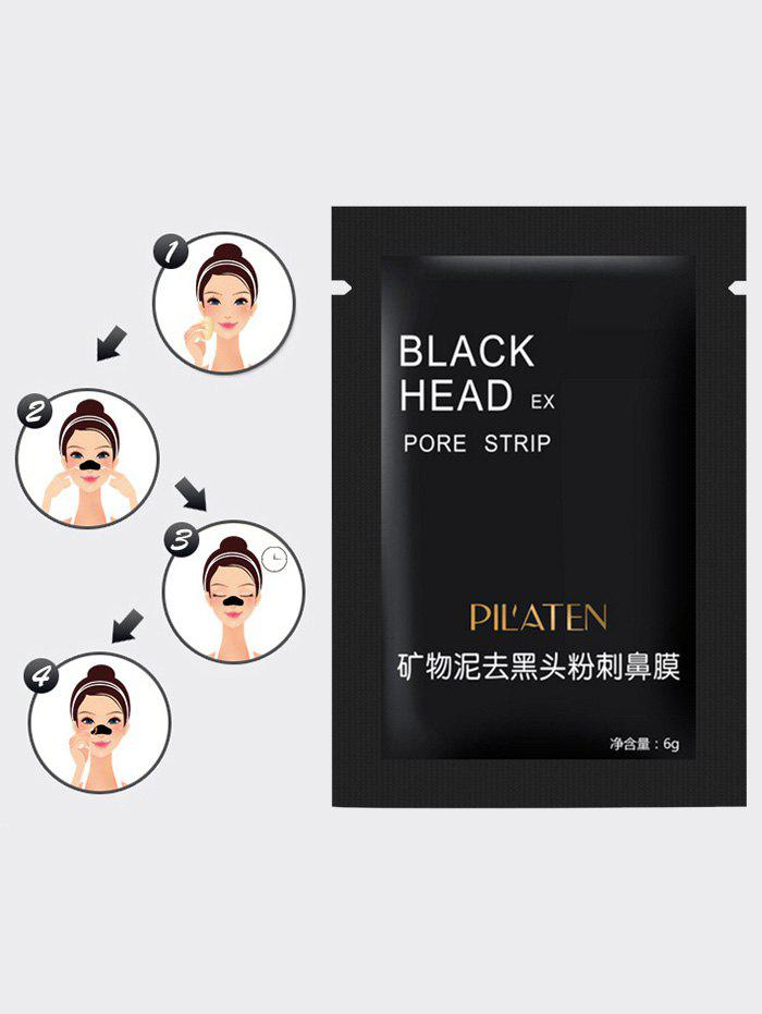 Blackhead Mineral Mud Nose Removal Deep Cleansing Mask - BLACK