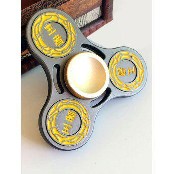 Finger Gyro Hollow Out Stress Relief Toy King Fidget Spinner