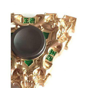 Dragon Triangle Stress Relief Toy Hand Spinner Gyro - GOLDEN