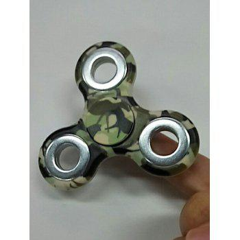 Camouflage Finger Gyro Focus Toy Finger Spinner