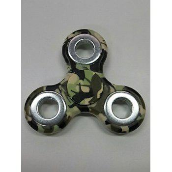 Camouflage Finger Gyro Focus Toy Finger Spinner - ARMY GREEN CAMOUFLAGE