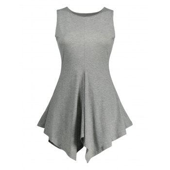 Asymmetrical Tunic Tank Top