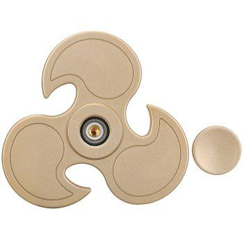 Fiddle Toy Flying Wheel Fidget Spinner - Or