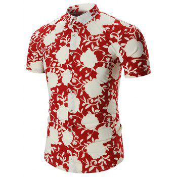 Short Sleeves Plus Size Hawaiian Shirt