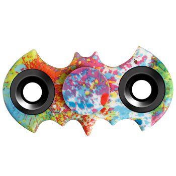 Fiddle Toy Bat Patterned Fidget Spinner