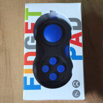 EDC Finger Toy Stress Relief Fidget Pad Gamepad - BLUE