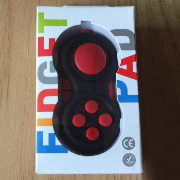 EDC Finger Toy Stress Relief Fidget Pad Gamepad - RED