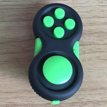 EDC Finger Toy Stress Relief Fidget Pad Gamepad - GREEN