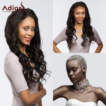 Adiors Dyed Perm Long Body Wave Free Part Lace Front Synthetic Wig