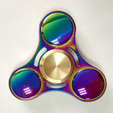 Rainbow Triangle Gyro Fidget Finger Spinner