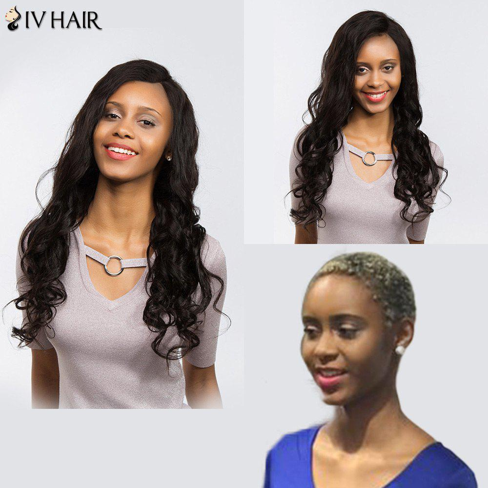 Siv Hair Perm Dyed  Free Part Long Body Wave Lace Front Human Hair Wig