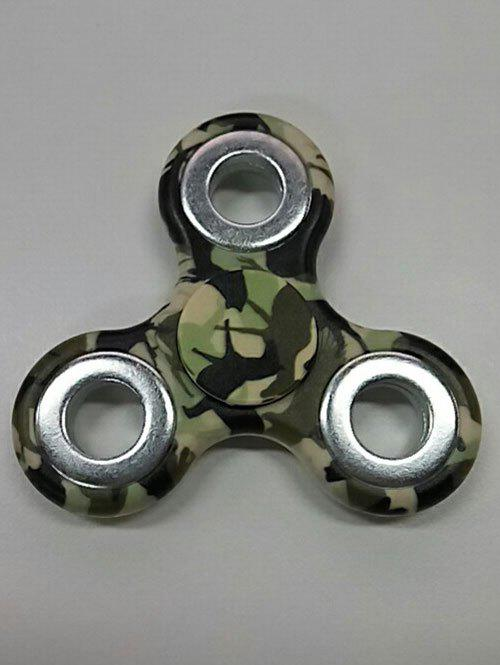 Hand Spinner Gyro Motif Camouflage - VERT D'ARMEE Camouflage