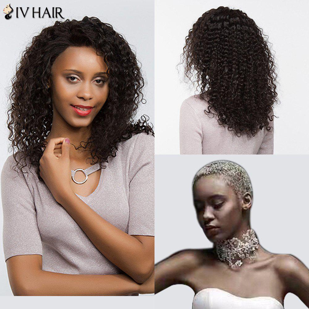Siv Hair Free Part Dyed Perm Shaggy Long Deep Curly Lace Front Human Hair Wig brazilian deep curly full lace human