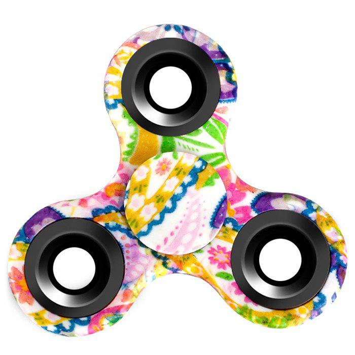 Fiddle Toy Triangle Patterned Fidget Spinner tri fidget hand spinner triangle metal finger focus toy adhd autism kids adult toys finger spinner toys gags