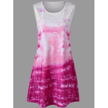 Tie Dye Mini Tank Dress