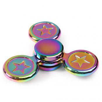 Fidget Toy Star Colorful Metal Hand Spinner