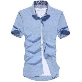 Button Up Slim Fit Shirt - OASIS OASIS