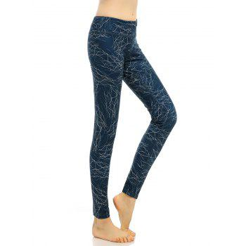 High Rise Elastic Funky Gym Leggings