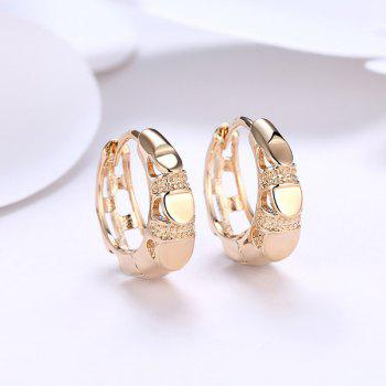 Metal Vintage Circle Hoop Earrings