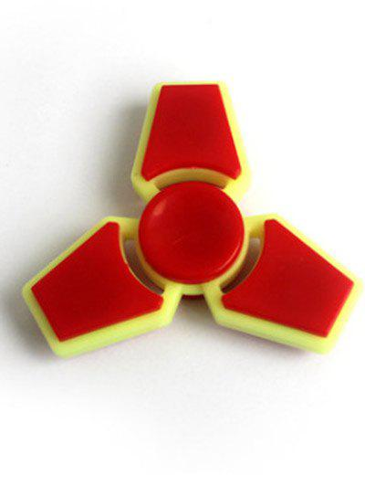 Trois Leaf Finger Gyro Stress Relief Toy Finger Spinner - Flamme