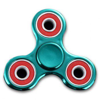 Stress Relief Toy Fidget Spinner Triangle Finger Gyro - GREEN GREEN