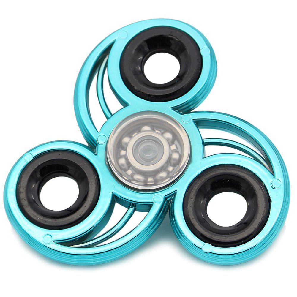 Fidget Toy Stress Relief Finger Gyro EDC Spinner - Bleu
