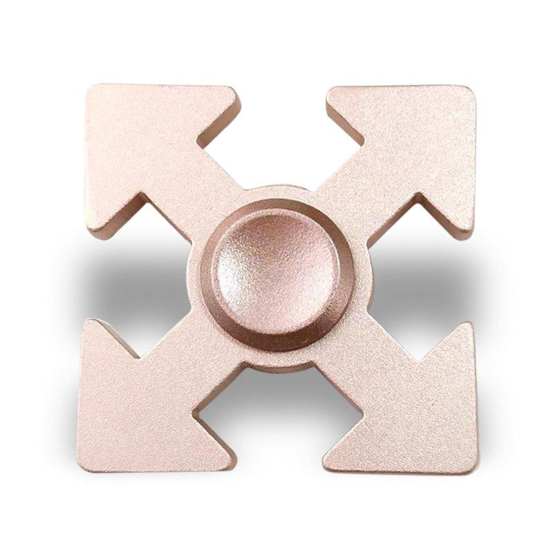 Arrows en forme EDC Fidget Spinner Play Play - Or Rose 5*5*1.3CM