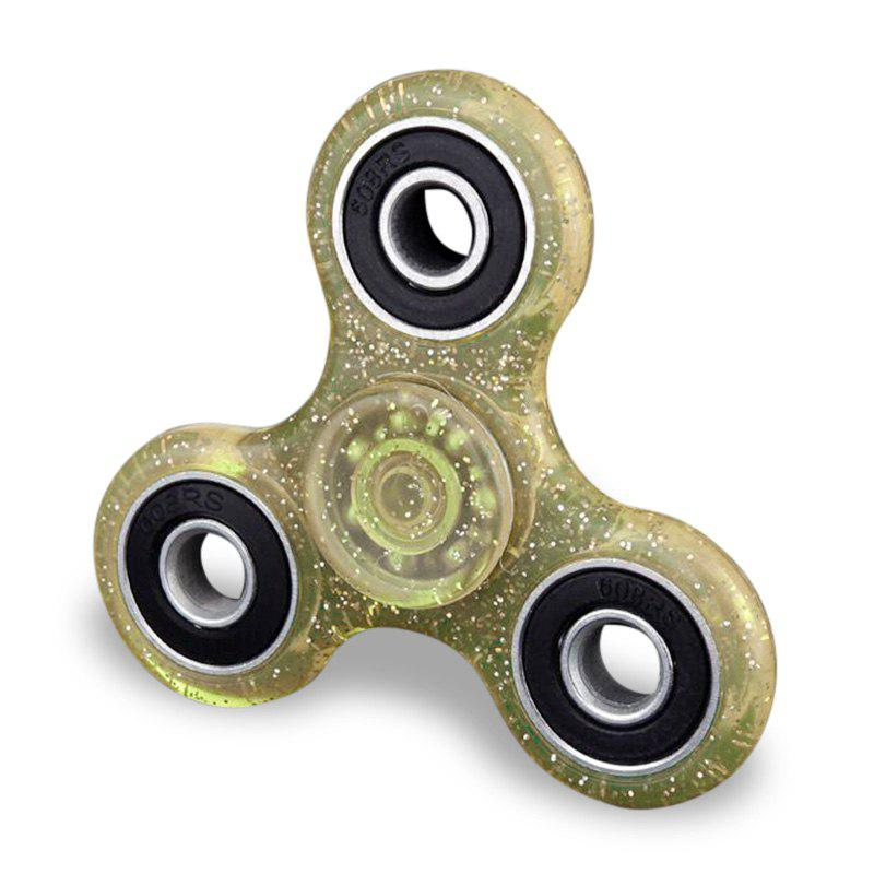 Plastic Finger Gyro Stress Relief Fidget Spinner EDC Focus Toy multi color gyro led light finger spinner fidget plastic abs hand for autism adhd anxiety stress relief focus toys gift