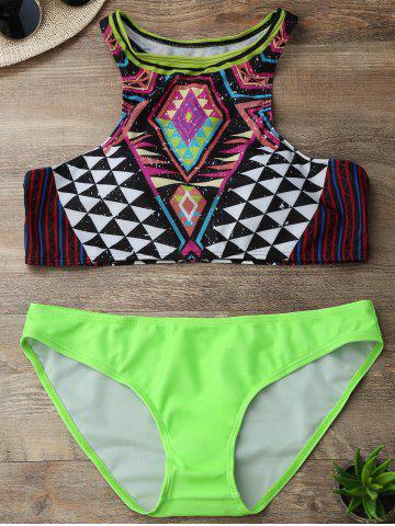 d9e0db5746 2018 Green Two Piece Swimsuit Online Store. Best Green Two Piece ...