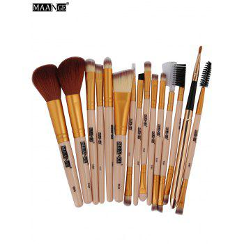 MAANGE 15Pcs Multifunction Makeup Brushes Set - COMPLEXION COMPLEXION