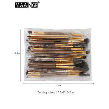MAANGE 15Pcs Multifunction Makeup Brushes Set - COMPLEXION