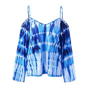 Dew Shoulder Tie Dye T-Shirt