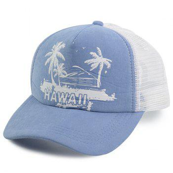 Hawaii Element Coconut Tree Baseball Hat