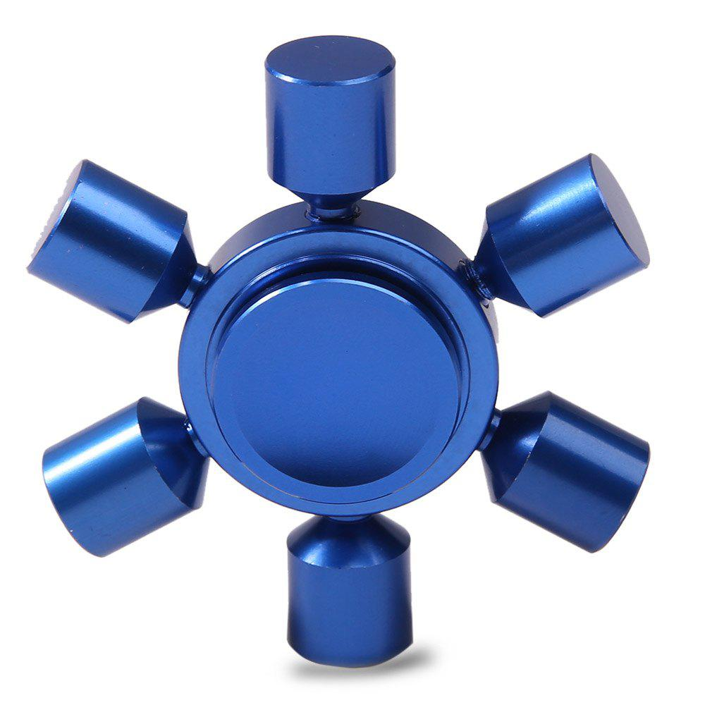 Focus Toy Rudder Fidget Metal Spinner - Royal