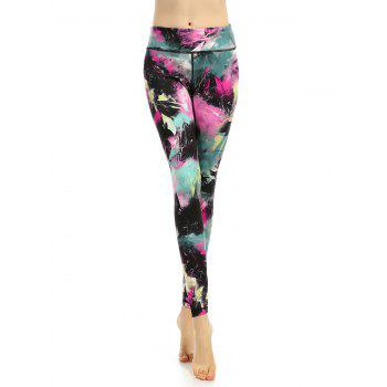 High Waisted Colorful Active Leggings