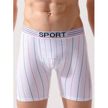 Workout Vertical Stripe Boxer Briefs