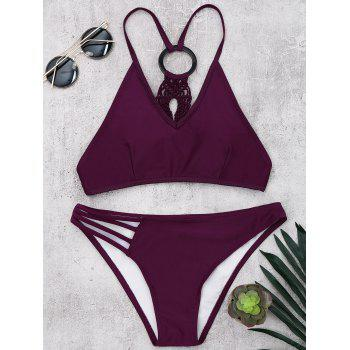Braided Padded Wireless Bikini Set