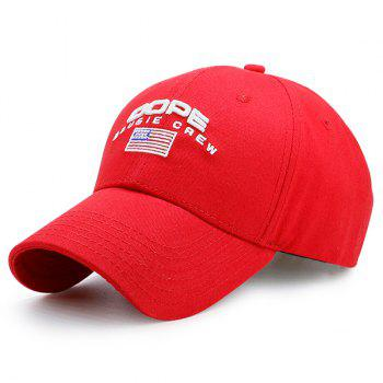 American Flag Letters Embroidery Baseball Hat