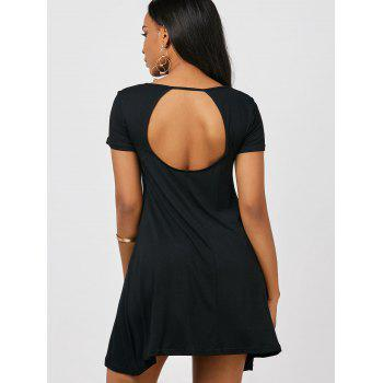 Cut Out Mini Tee Dress