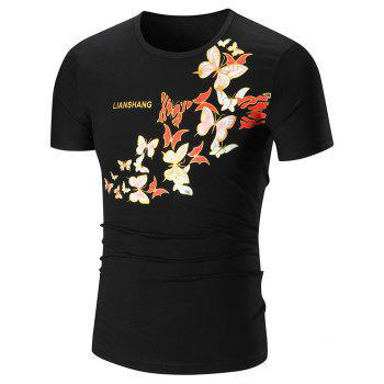 Butterfly Graphic Printed T-Shirt