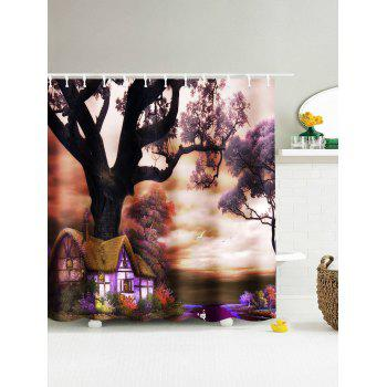 The Dreamy Yard Waterproof Fabric Shower Curtain - COLORMIX COLORMIX