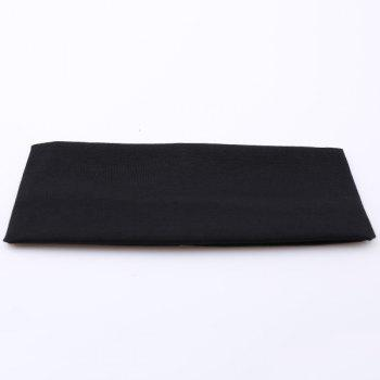 Sport Hip-Pop Wide Plain Elastic Headband